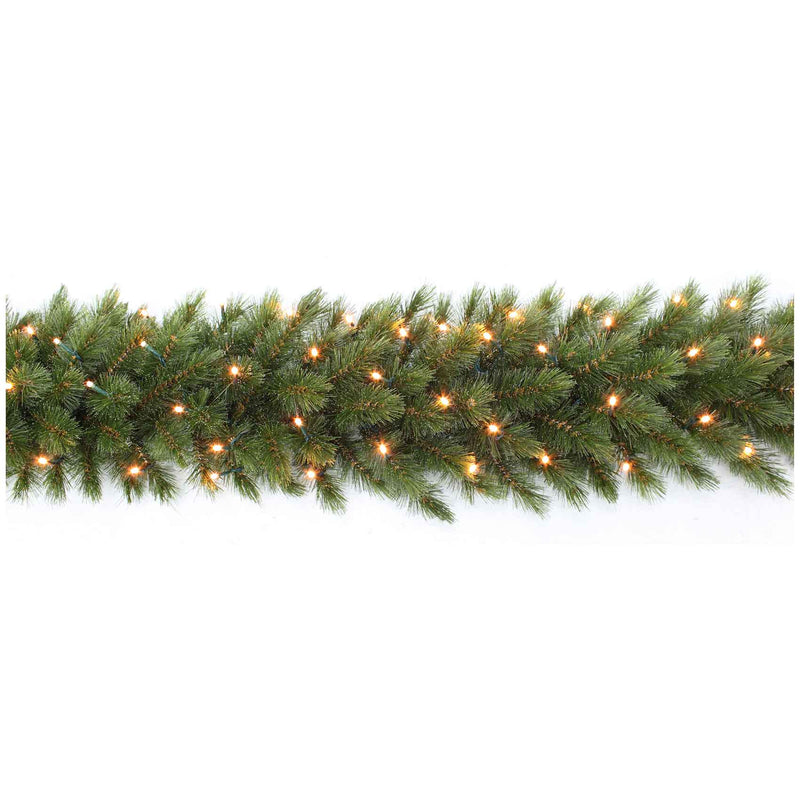 Triumph Tree slinger led forest frosted maat in cm: 180 x 33 groen met 72 lampjes