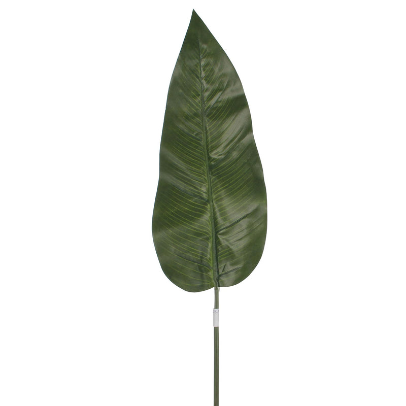 Mica Decorations philodendron blad maat in cm: 97 groen