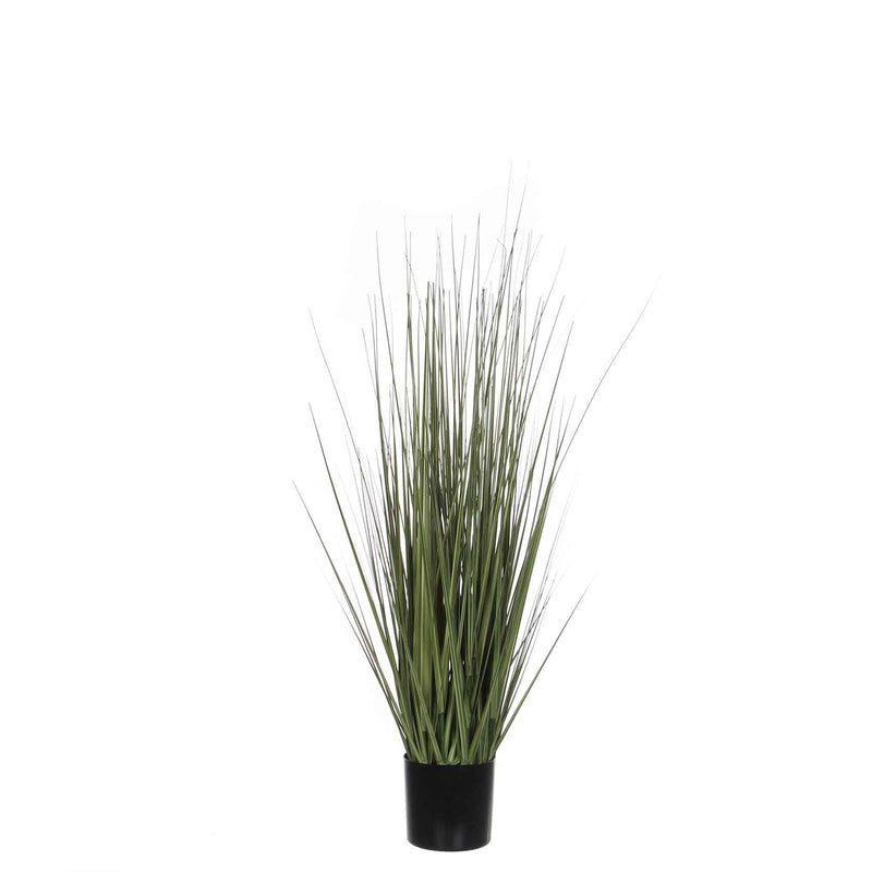 Mica Decorations gras in pot groen maat in cm: 90 x 35