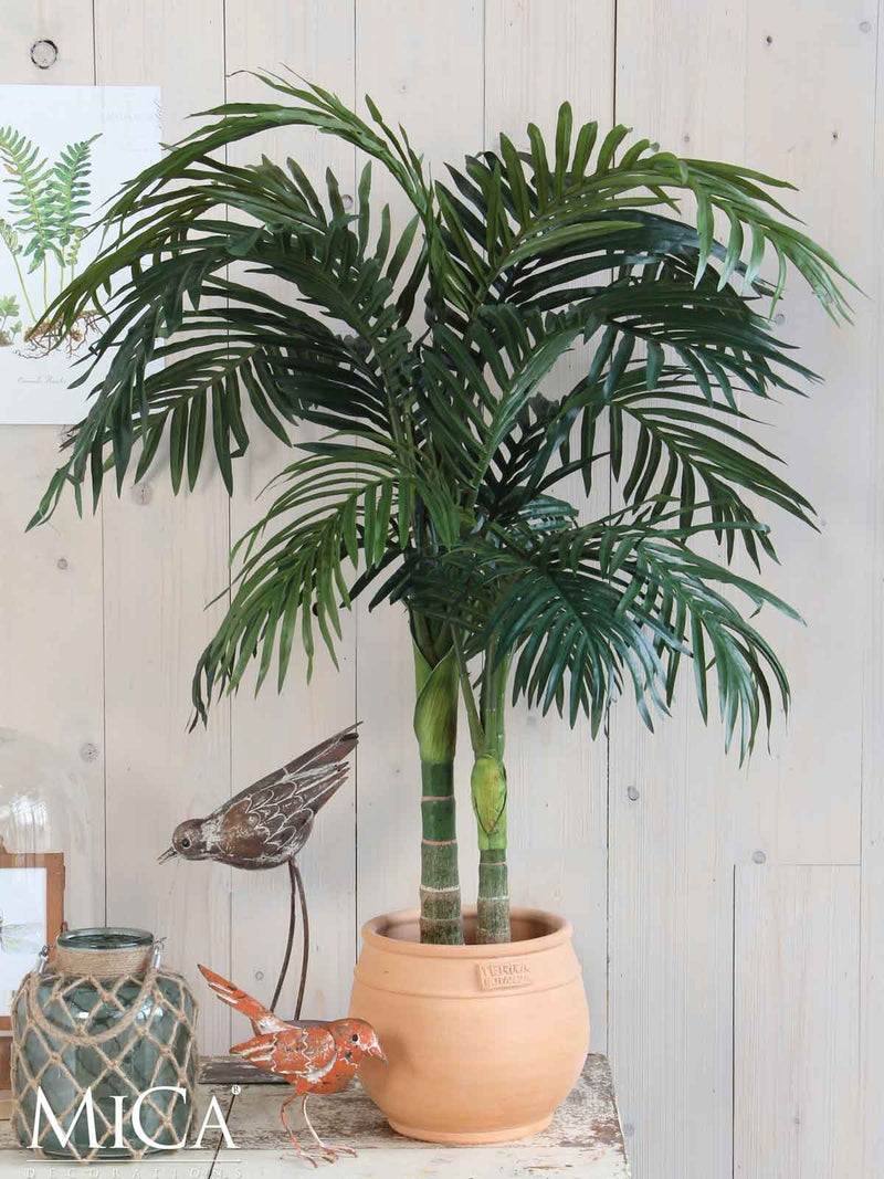 Mica Decorations areca palm h95d85 groen