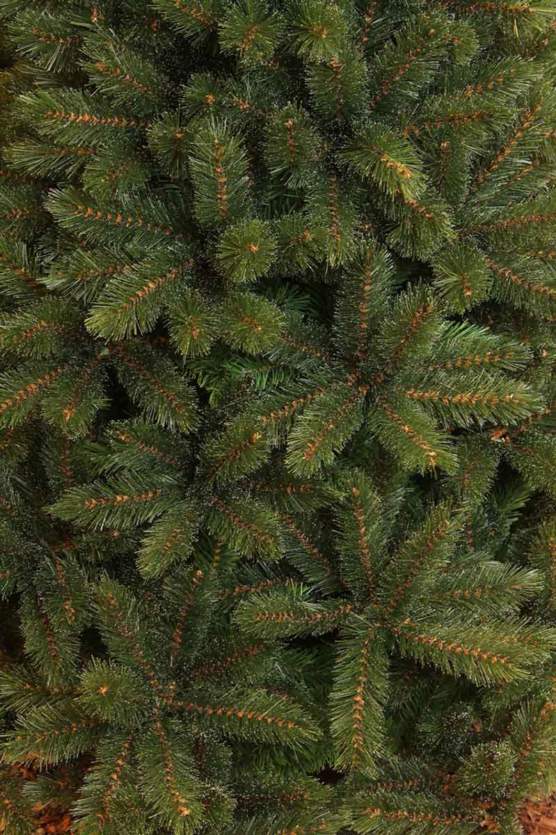 Triumph Tree Franse kunstkerstboom forest frosted maat in cm: 365 x 208 groen