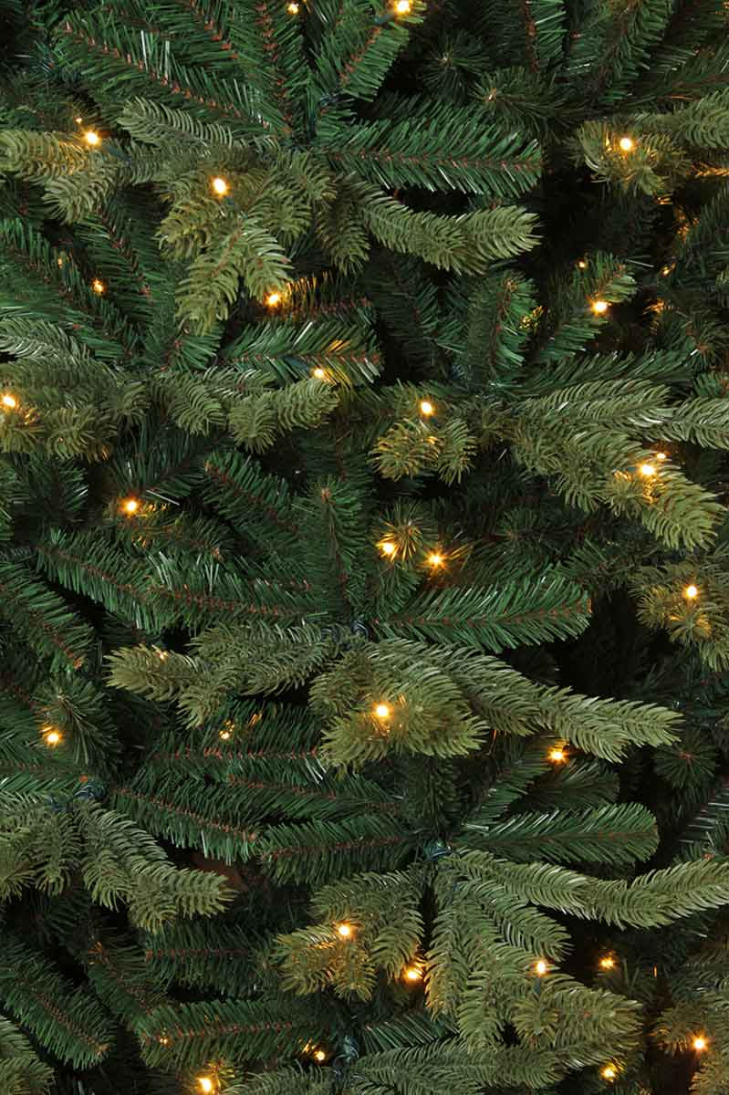 Triumph Tree sherwood kerstboom deluxe led pro groen 840 lampjes tips 2969 maat in cm: 260 x 150