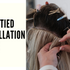 Hand-tied Hair Extensions Installation Guide