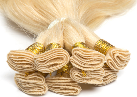 Hand-tied hair extensions are the most comfortable in the hair industry currently.