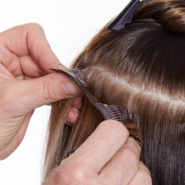 clips-in hair extensions