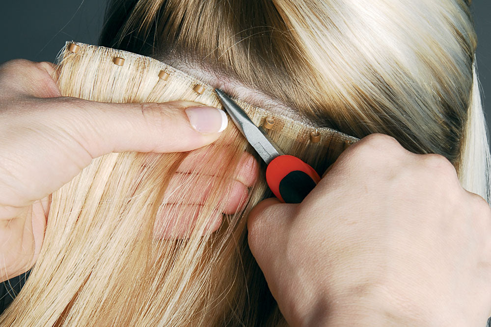 micro-link hair extensions