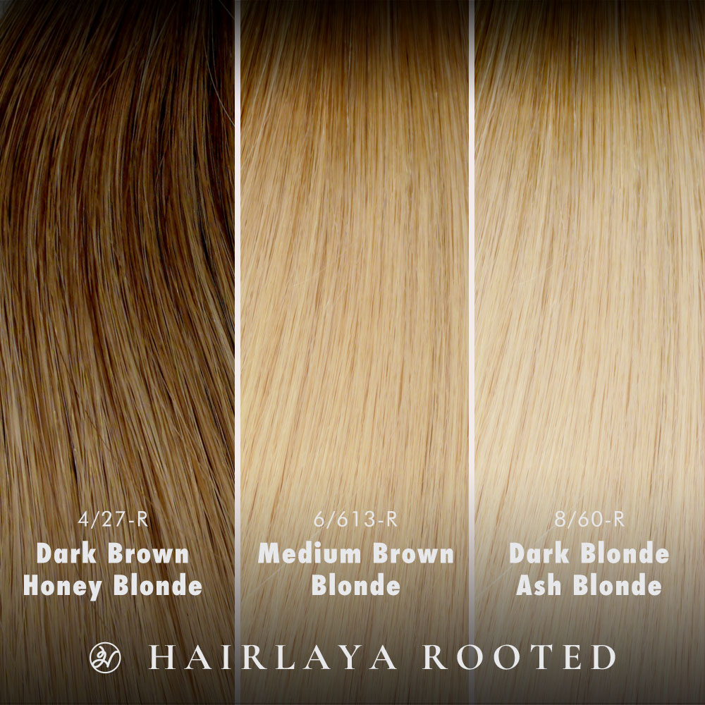Hairlaya Rooted hand-tied extensions