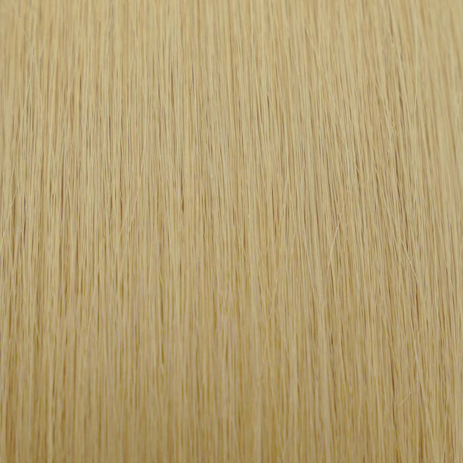 Hairlaya  Medium Blonde (#16) Hand-Tied Wefts Hair Extensions Double Drawn Color