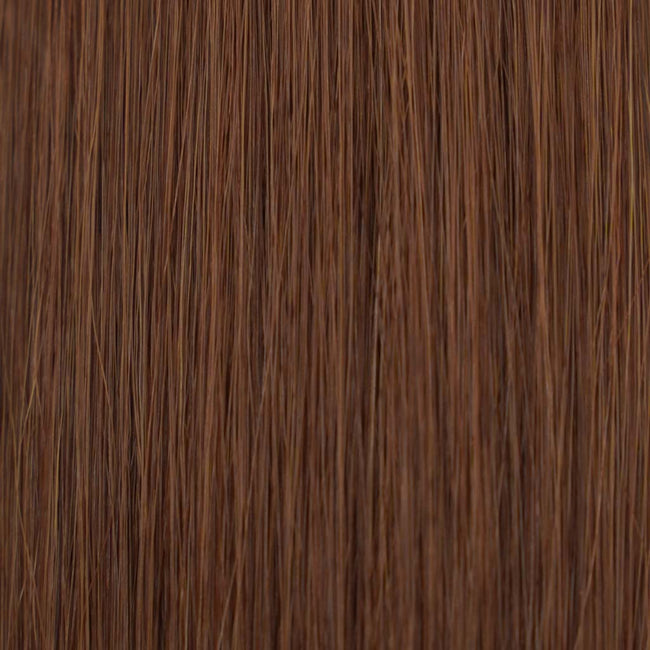 Hairlaya  Chestnut Brown (#33) Hand-Tied Wefts Hair Extensions Double Drawn Color