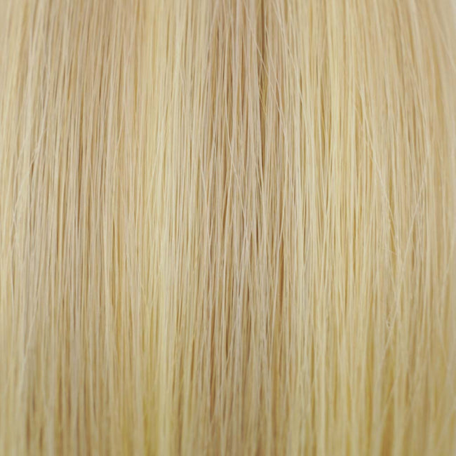 Dirty Blonde/Blonde(#12/613) Straight Tape-In Hair Extensions Double Drawn