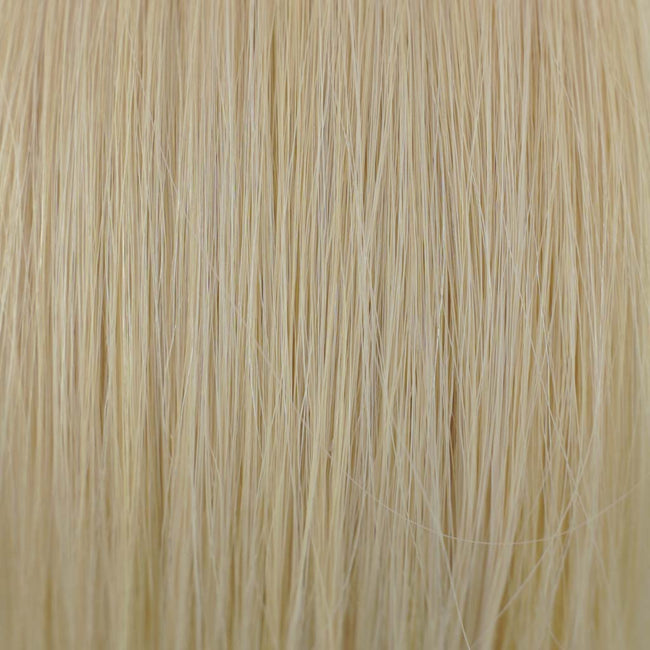 Ash Blonde/Blonde(#60/613) Straight Tape-In Hair Extensions Double Drawn Color