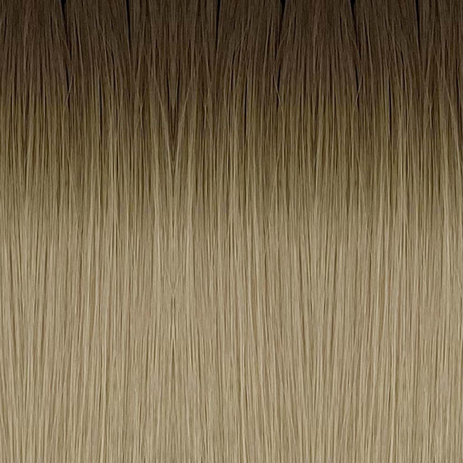 Dark Blonde/Blonde(#R8/613) Straight Tape-In Hair Extensions Double Drawn Color