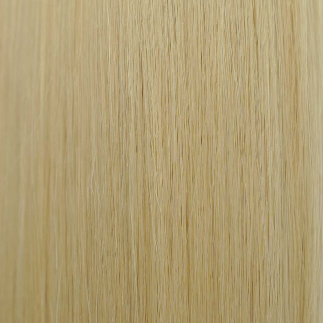 Blonde (#613) Straight Tape-In Hair Extensions Double Drawn Color