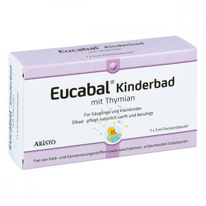 Eucabal Kinderbad mit Thymian, 7 X 5 ml