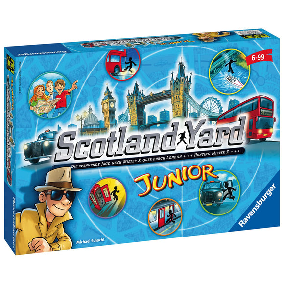Ravensburger - Scotland Yard Junior Santiago Chile