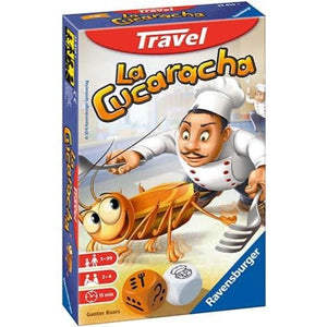 Ravensburger - Juego La Cucaracha Travel Game 5+