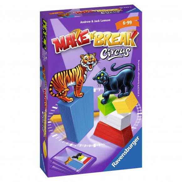 Ravensburger - Make n Break Circus 6-10
