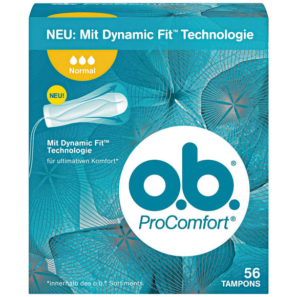o.b. Tampon ProComfort Normal, 56 St