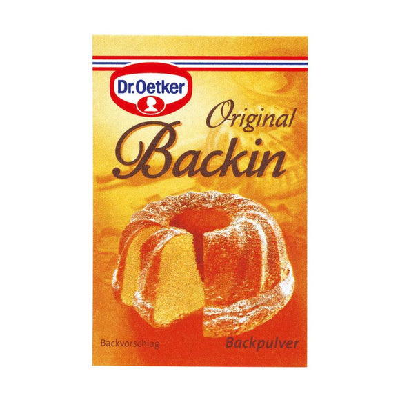 Dr. Oetker Backpulver Original Backin 10 Stück