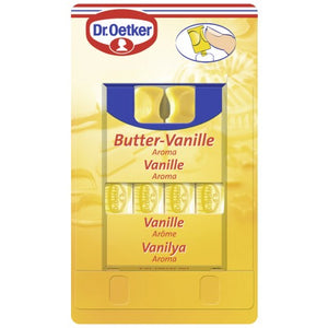 Dr. Oetker Butter Vanille Aroma 4x