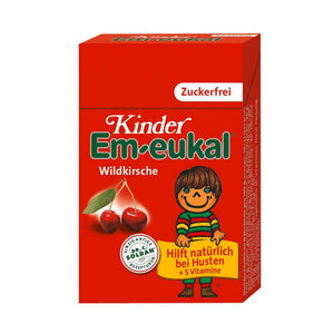 Em-eukal Kinder Wildkirsche, Pocket zuckerfrei, 40 g