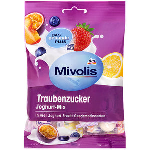 Mivolis Traubenzucker Joghurt-Mix, 100 g