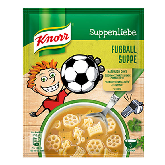 Knorr Suppenliebe - Fußball Suppe