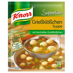 Knorr Suppenliebe Grießklößchen-Suppe