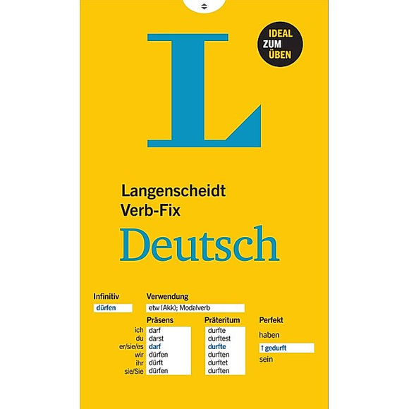 Langenscheidt Verb-Fix Deutsch
