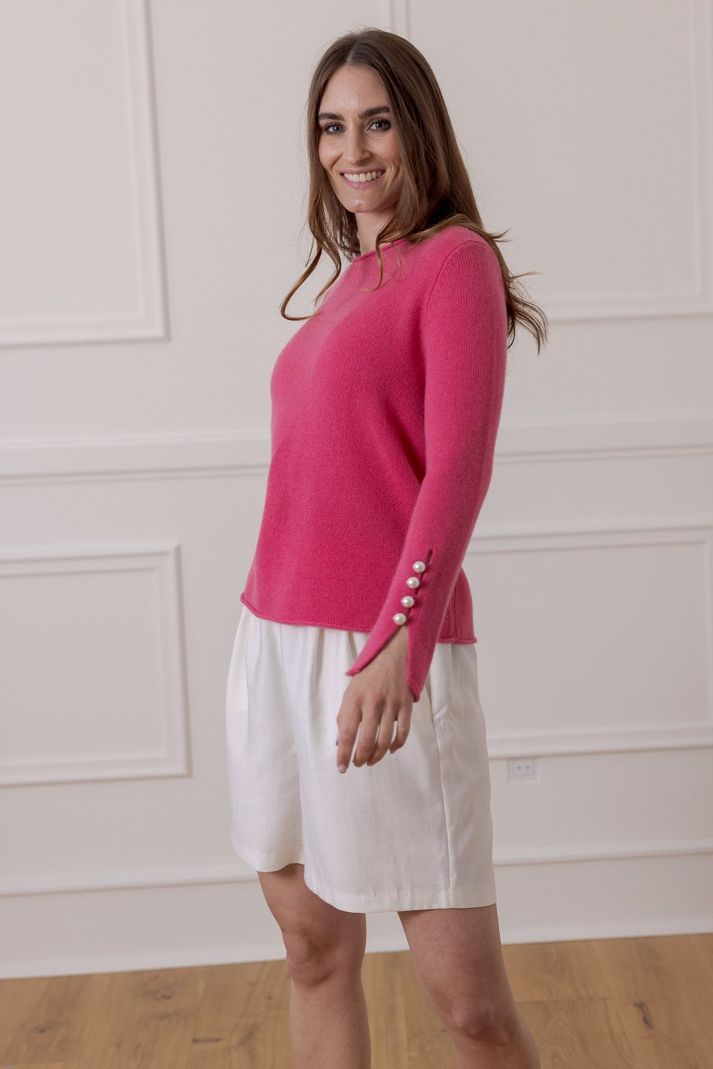 Abbelone Cashmere Sweater - Pink