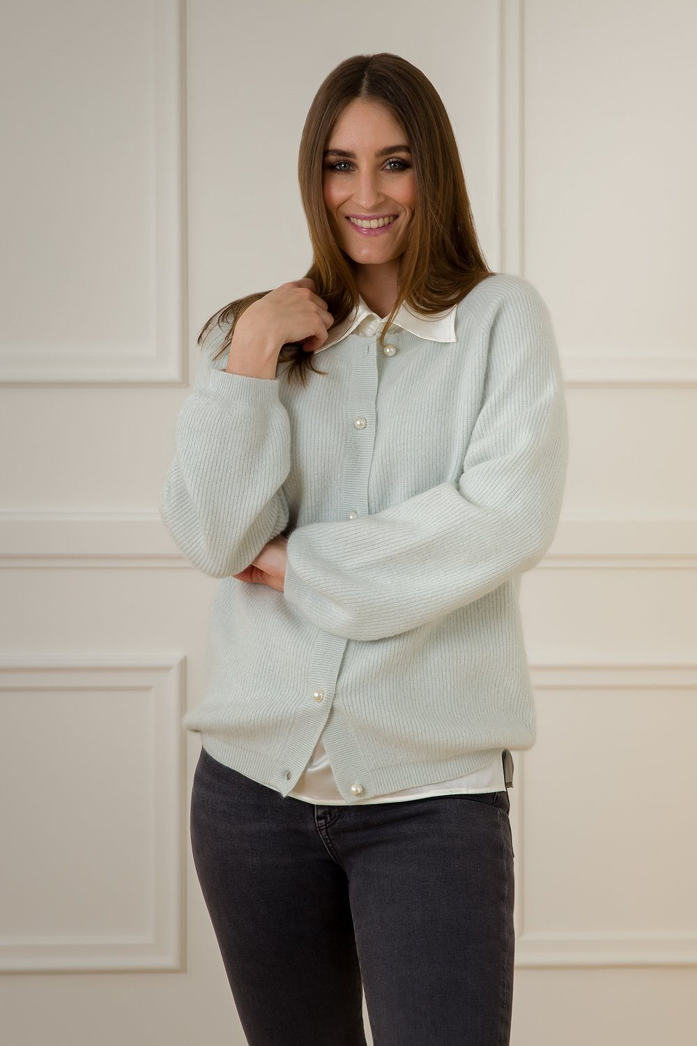 Diane Cardigan - Light Blue