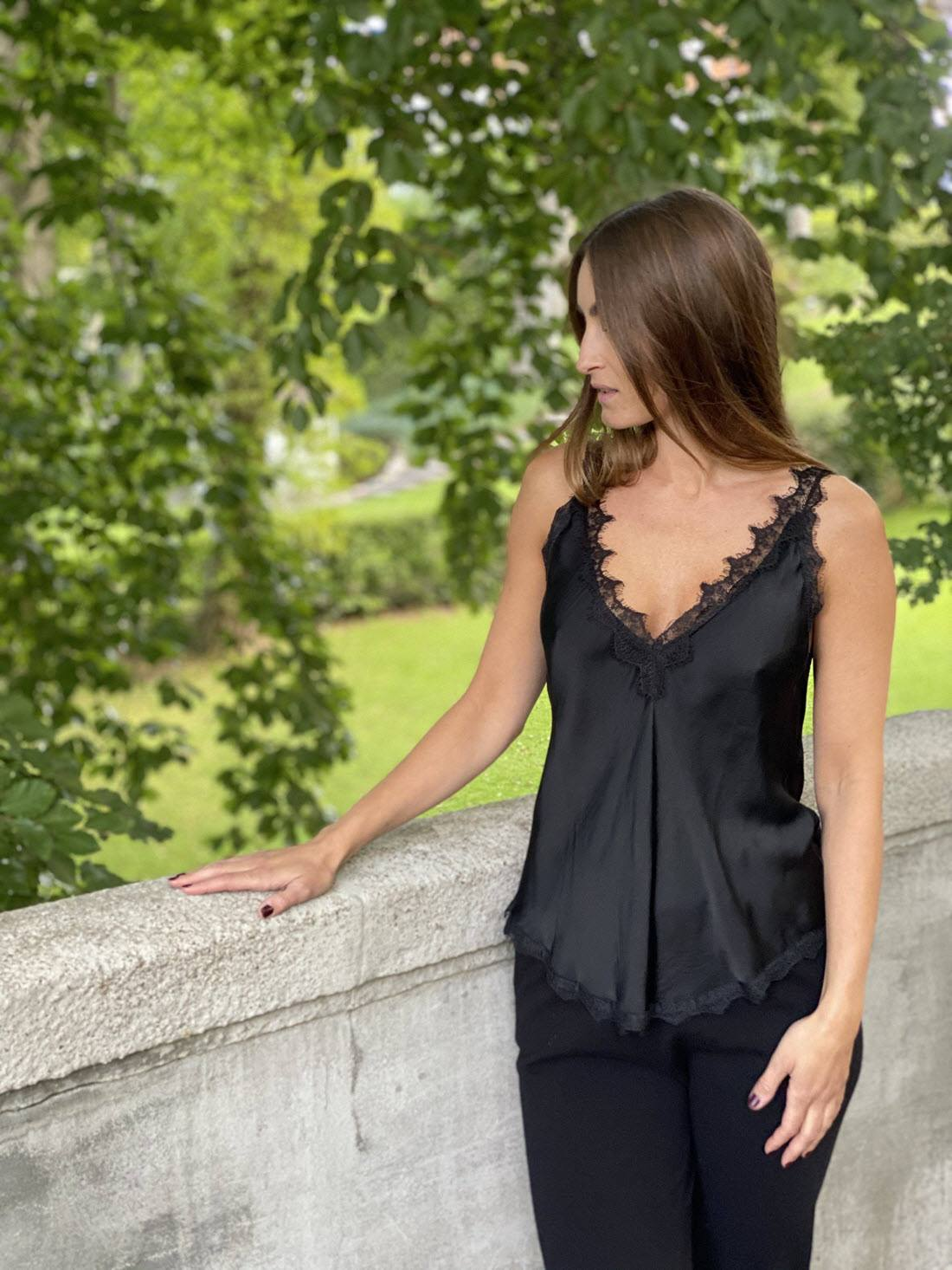 Jade Top – Black