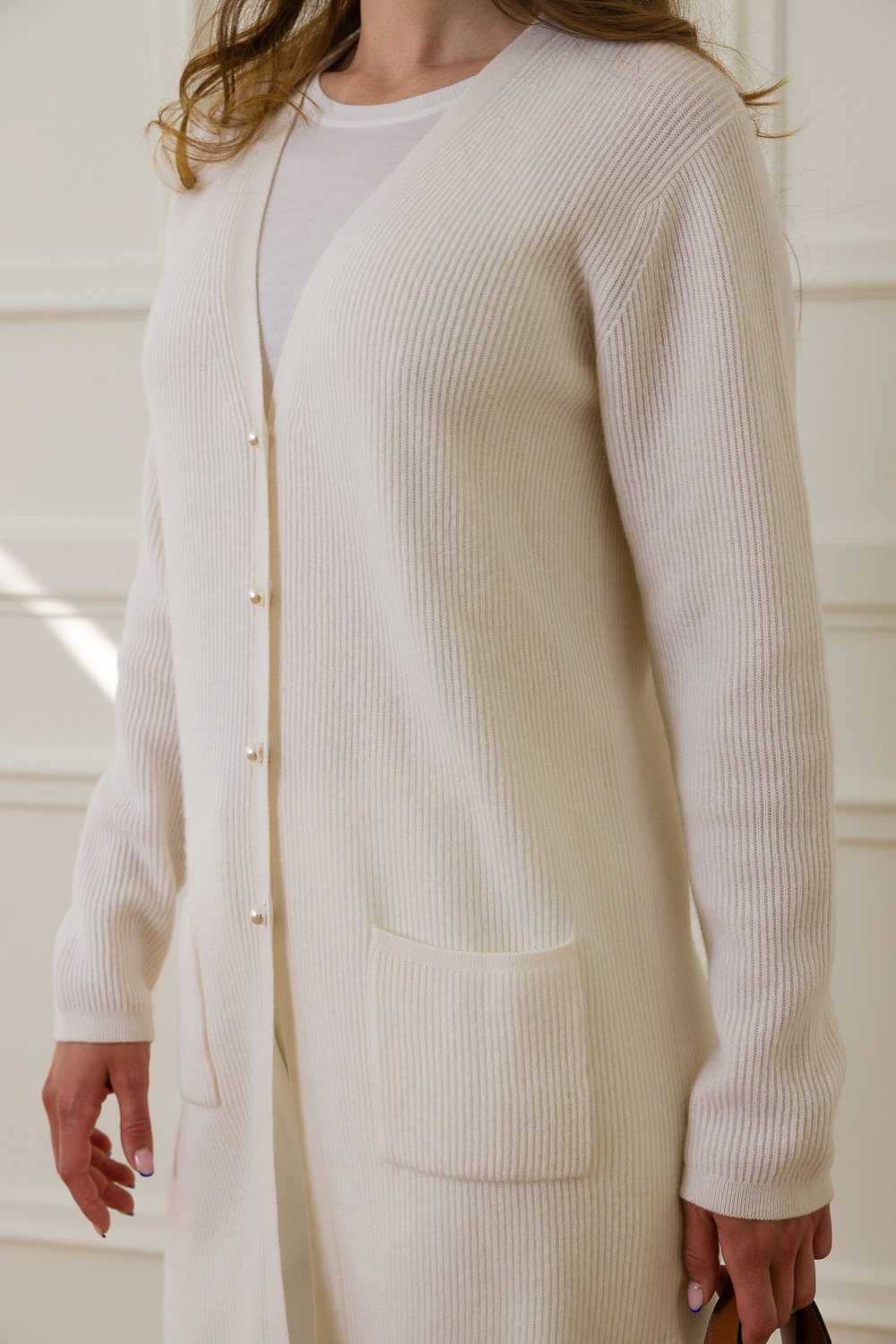 Mary Cashmere Cardigan - Off White