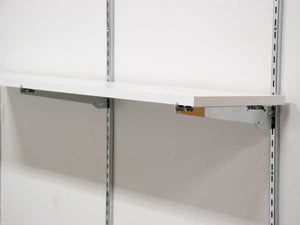 "Adjustable Shelf Bracket - 10"" - Chrome"