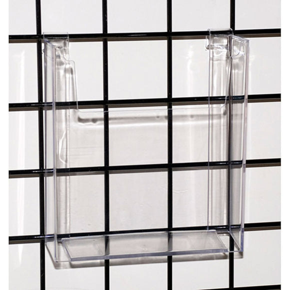 Gridwall - Literature Holder - Acrylic - 8-1/2