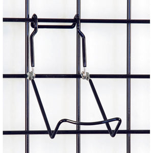 Gridwall Adjustable Easel - Black - Pack 5