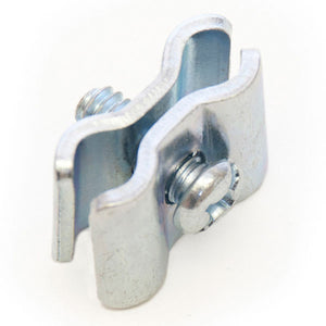 Gridwall Clamp - Chrome - 25/Pack