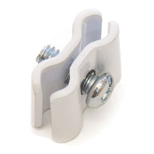 Gridwall Clamp - White - 25/Pack