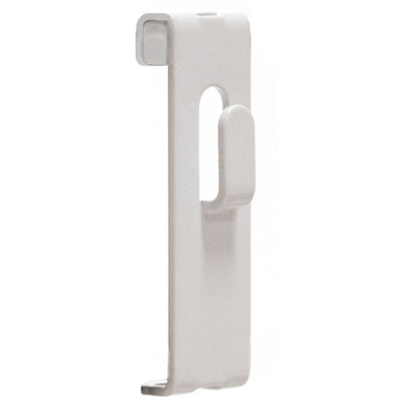 Gridwall Picture Hook - White - 100/Carton