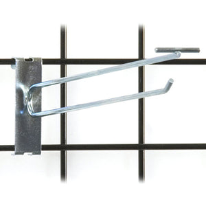 "Gridwall Scanner Hook 12"" - Zinc - 100/Carton"
