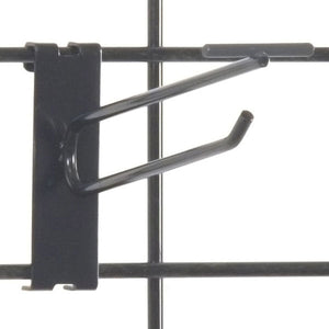 "Gridwall Scanner Hook 6"" - Black - 100/Carton"