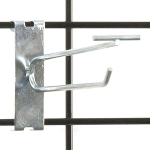 "Gridwall Scanner Hook 6"" - Zinc - 100/Carton"