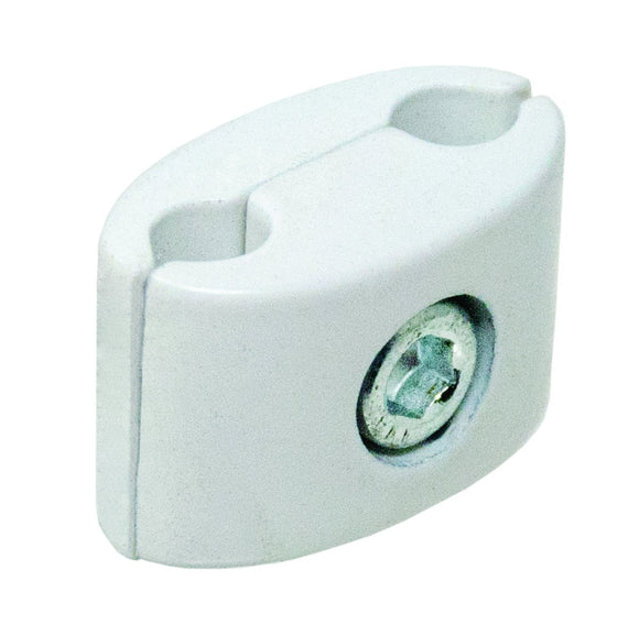 Heavy Duty Gridwall Clamp - White - 25 Pack