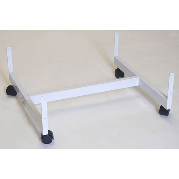 H-Frame Gondola Grid Base - 3 Panel - white