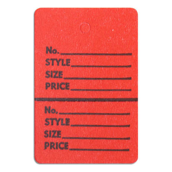 Merchandise Tag without String - 1-3/4