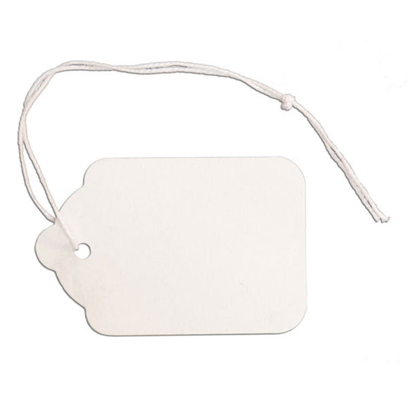 Merchandise Tag with String - 1-1/2
