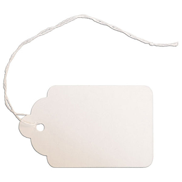 Merchandise Tag with String - 1-5/8