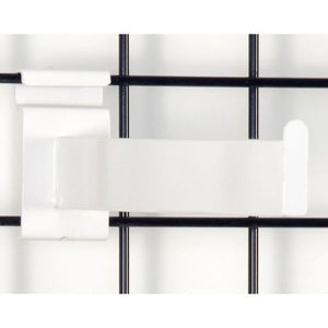 "Rectangular Gridwall Faceout - 12"" - White"