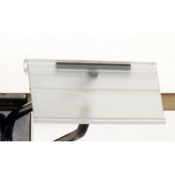 Scanner Hook Label Holder - Clear - 100/Carton