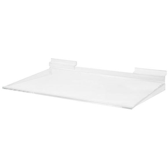Acrylic Slatwall Shelf 16